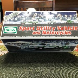 Other - HESS Sport Utility Vehicle and Motorcycles